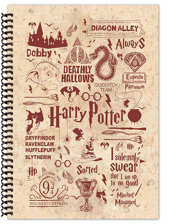 Harry Potter Quotes Notebook Adorable Harry Potter Quotes
